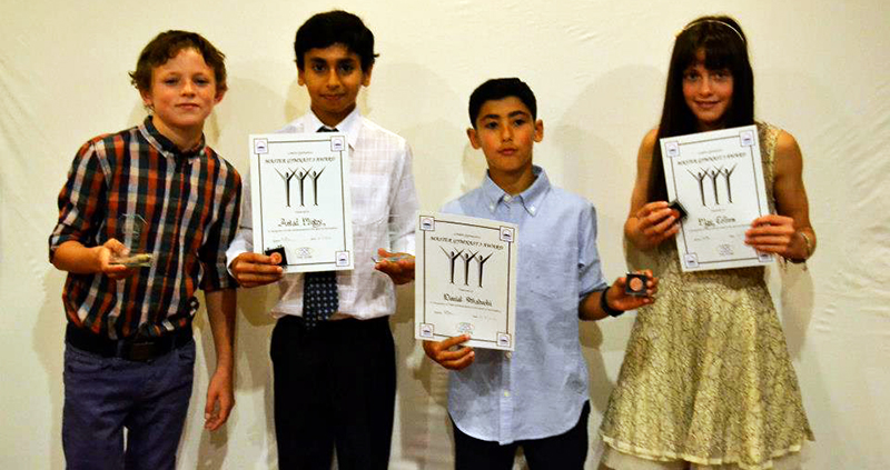Finnian Daly, Astad Mistry, Daniel Saboohi and May Collins